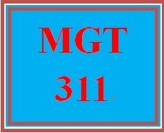 MGT 311 Week 2 Case Study Analysis