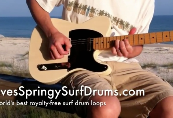EVERYTHING: Royalty-free surf drum loops and backing tracks ($19.99)