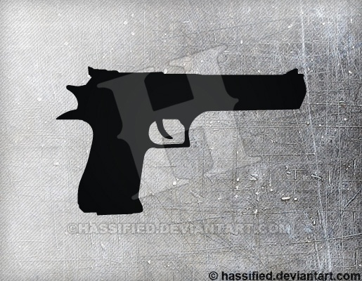 Desert Eagle - printable, vector, svg, art