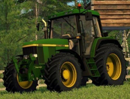 John Deere 6810, 6910, and 6910S Tractors Service Repair Manual (tm4566)