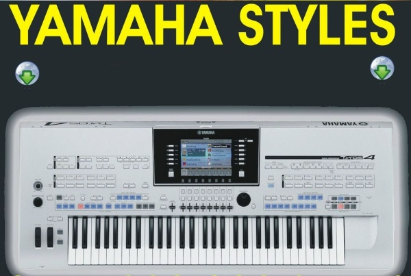 Party pack Yamaha keyboard Tyros, PSR, CVP