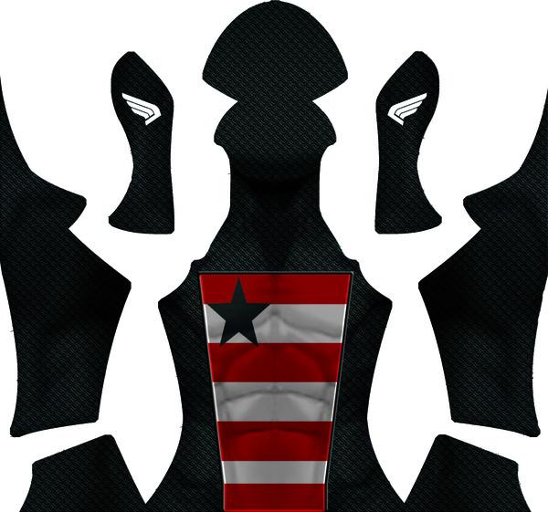 U.S. Agent Dye-Sub Pattern
