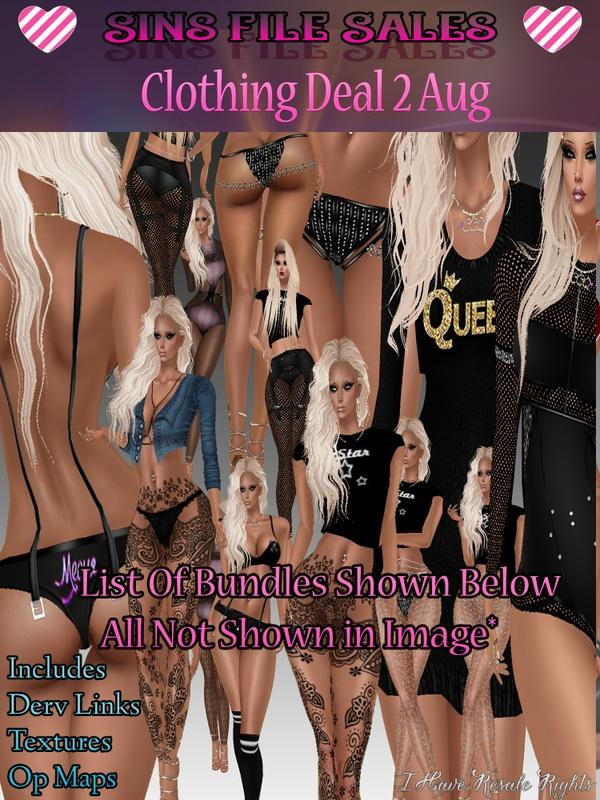 Clothing Bundled Deal 2
