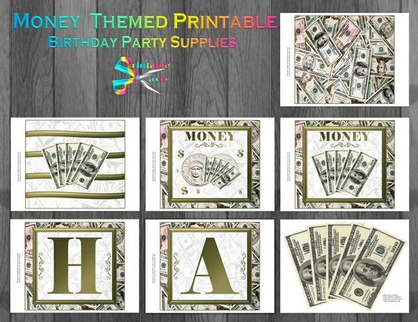 MONEY-THEME-PRINTABLE-PARTY-SUPPLIES