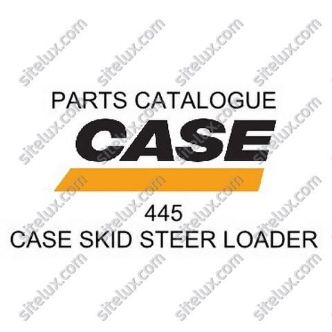 Case 445 Skid Steer Loader Parts Catalogue
