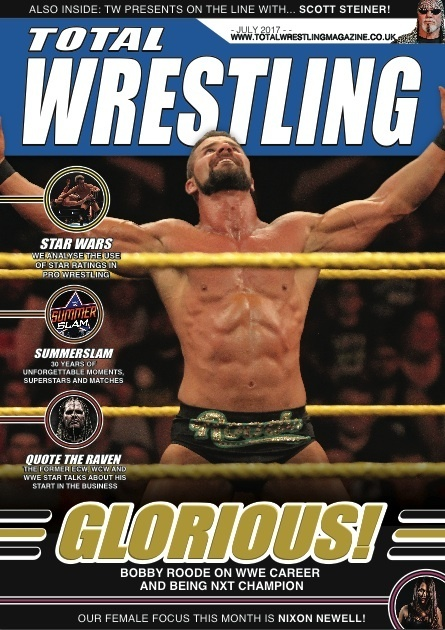 Total Wrestling Magazine July 2017