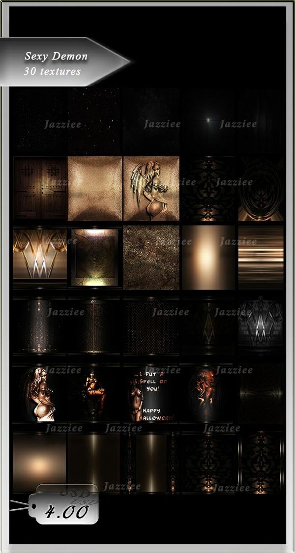 Sexy Demon-30 Textures