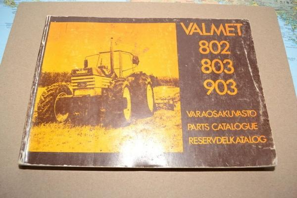 Valmet 802 803 903 reservdelkatalog - 188 sidor - svenska/finska/engelska