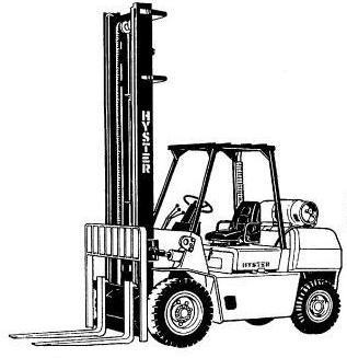 Hyster Forklift G005 Series: H3.50XL, H4.00XL-5, H4.00XL-6, H4.50XL, H5.00XL Spare Parts List