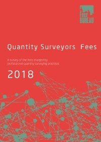 Quantity Surveyors Fees 2018