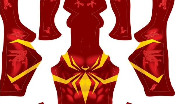 Iron Spider (No texture) pattern