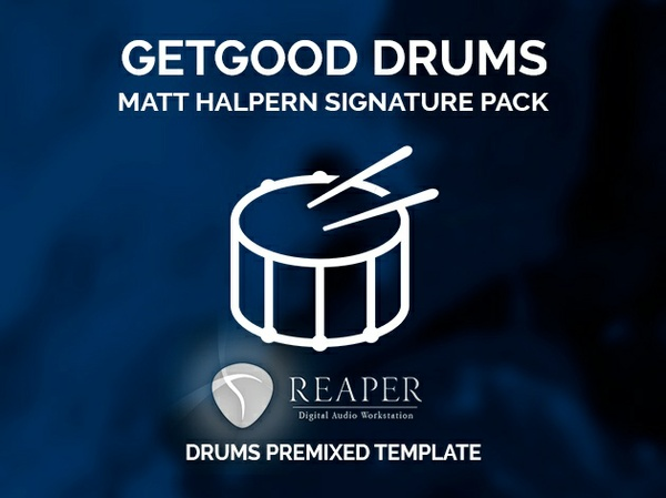 GGD: Matt Halpern Signature Pack // Reaper pre-mixed template