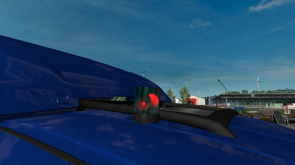 Red Beacon - Gyrophare Rouge for All Trucks by CocoRico3D
