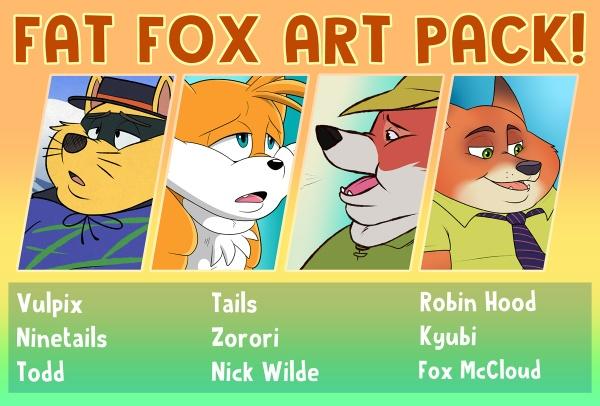 Fat Fox Art Pack