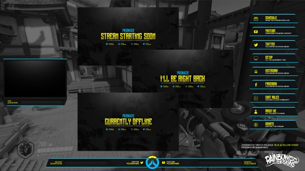 Overwatch Stream Package