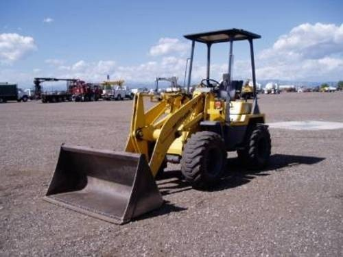KOMATSU WA50-3 WHEEL LOADER SERVICE REPAIR MANUAL + OPERATION & MAINTENANCE MANUAL