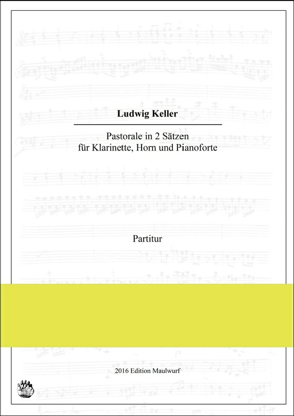 Pastorale für Klarinette, Horn und Pianoforte (L. Keller)