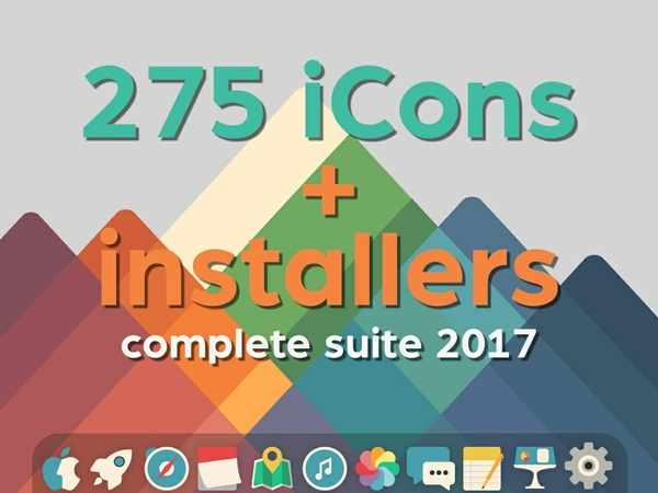 Complet Suite iConadams for mac OSX 2017