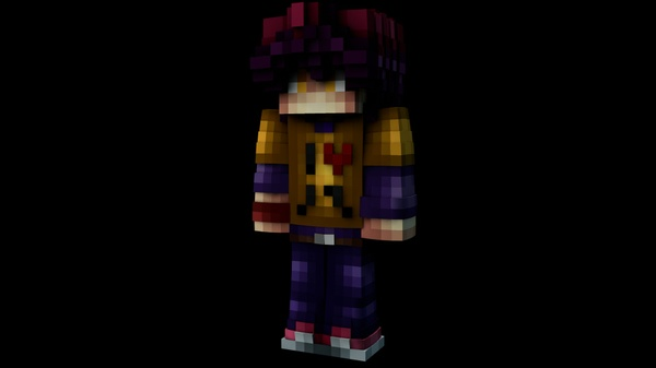 Minecraft Custom C4D Extrusion (Including File) I Give u :D