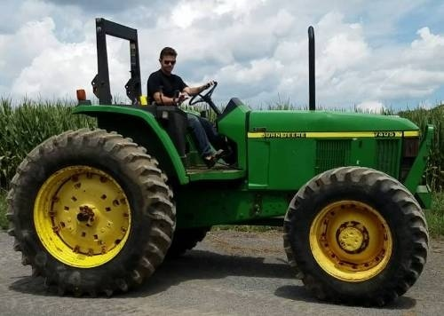 John Deere 7405 Tractor Service Repair Manual (tm6014)