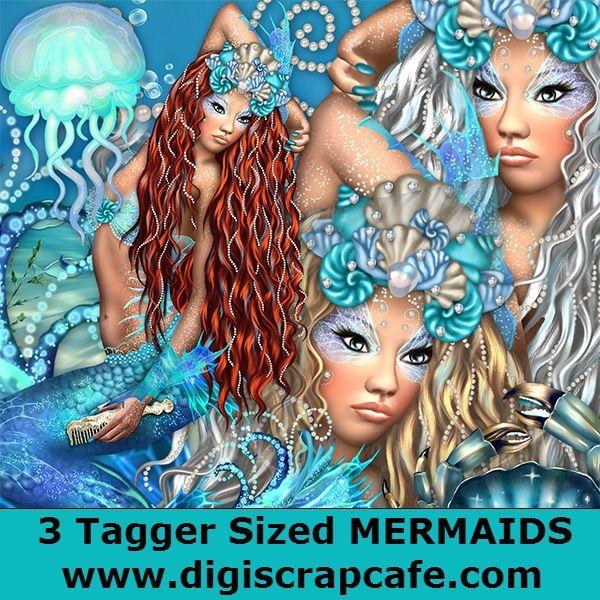 Mermaids Trio