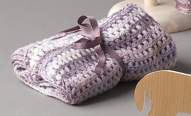 Lavender Baby Throw
