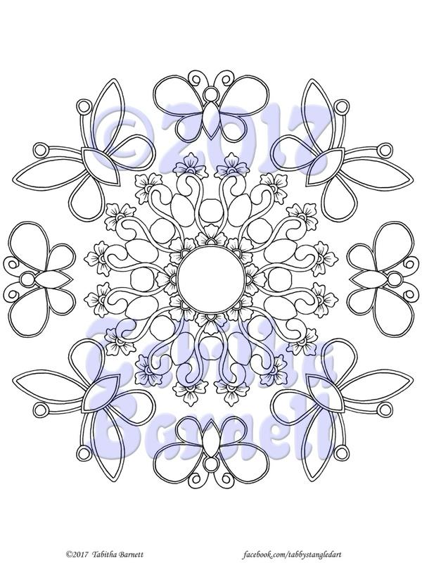 MINI Gemdalas and Gemflies Coloring Pack PDF