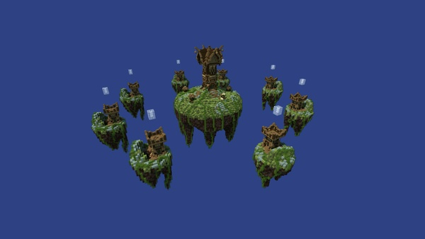 Medieval 'Tower' Skywars map