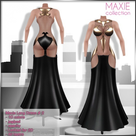2014 Maxie Long Dress # 2