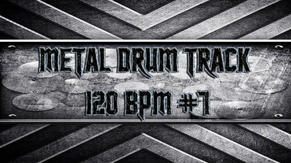 Metal Drum Track 120 BPM #7