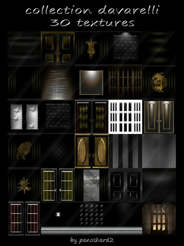 collection davarelli 30 textures for imvu