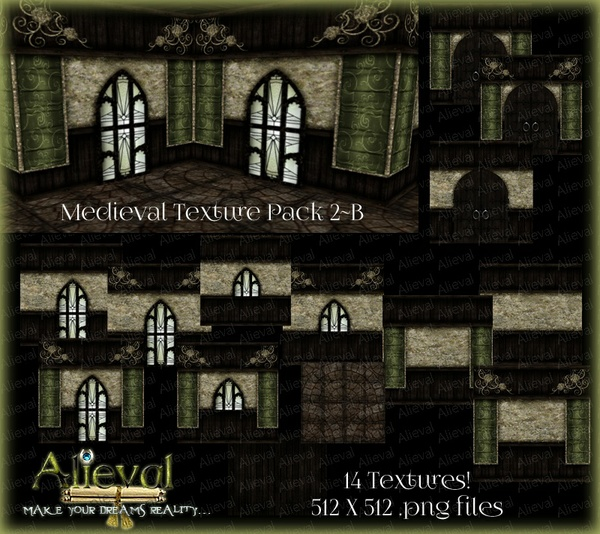 Medieval Texture Pack 2-B
