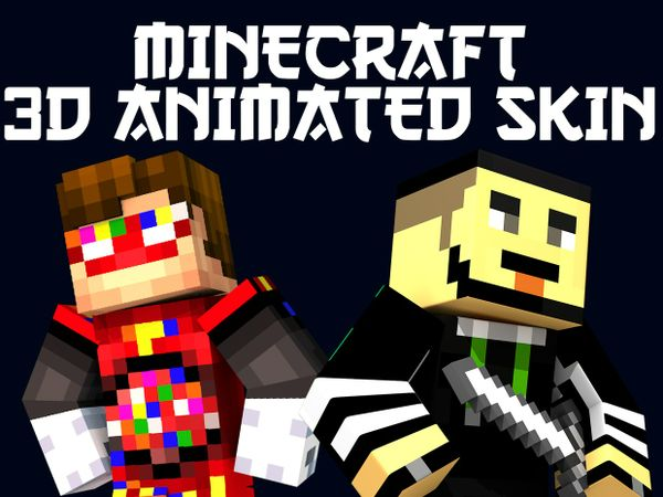 5 Minecraft Animated Skins