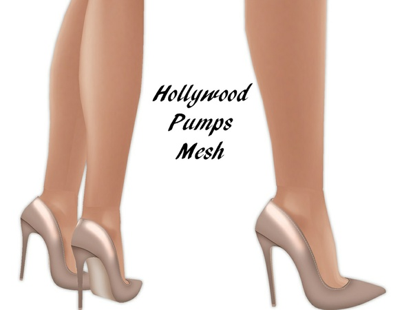 IMVU Mesh - Shoes - Hollywood Pumps
