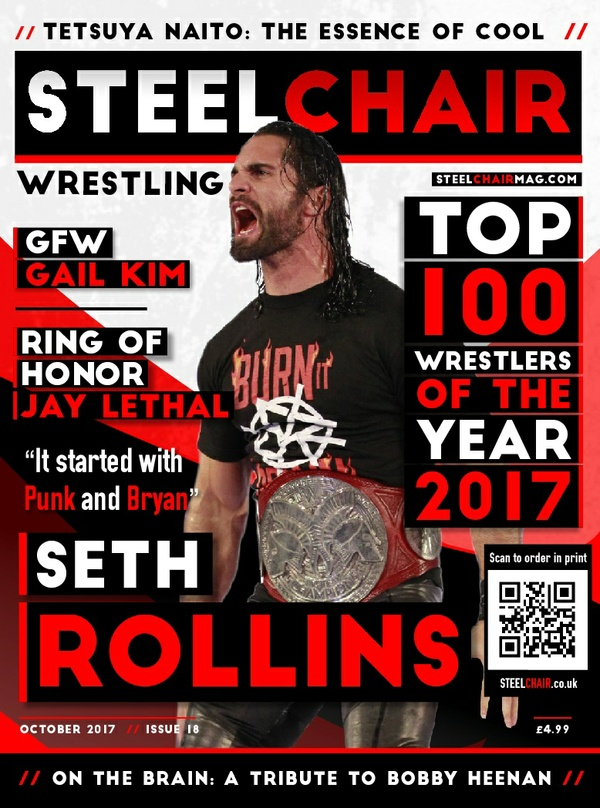SteelChair Wrestling Magazine #18