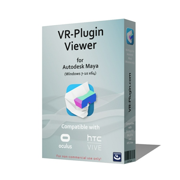 VR-Plugin Viewer - for Autodesk Maya™ 2014-2018 (Win 7-10 x64) - annual license