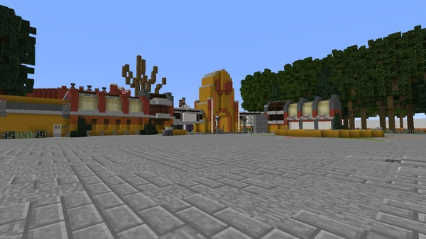 Minecraft Themepark Walibi