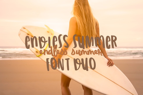 Endless Summer Font Duo