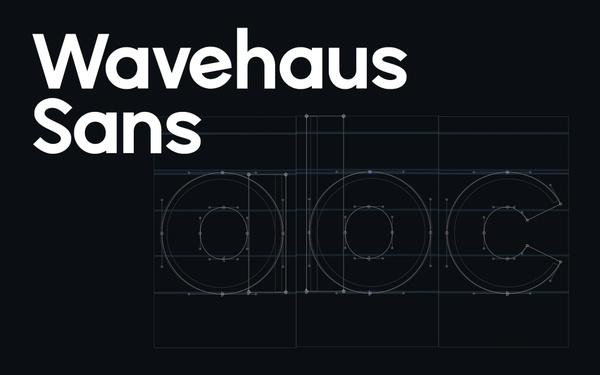 Wavehaus Sans Typeface