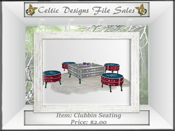 CD Clubbin Seating