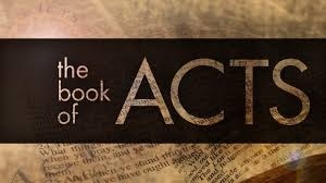Book Of Acts Jan 10 2016