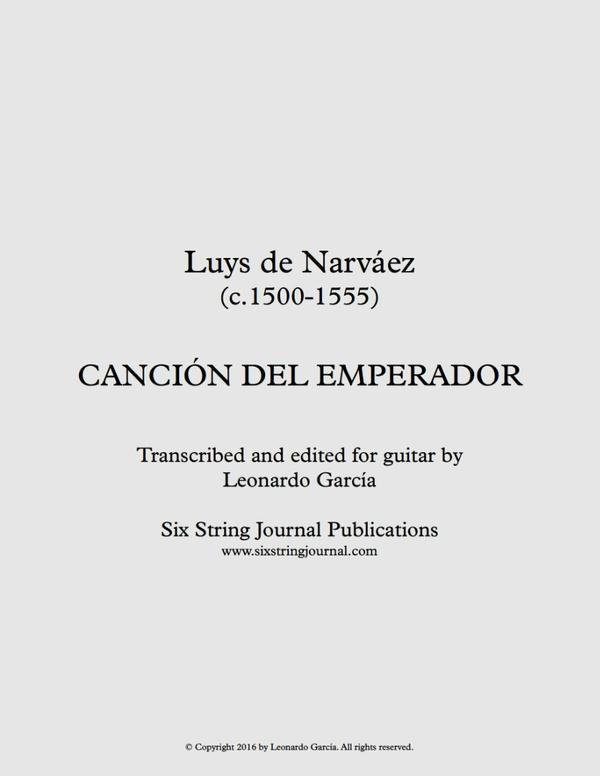 Canción del Emperador (Narváez)