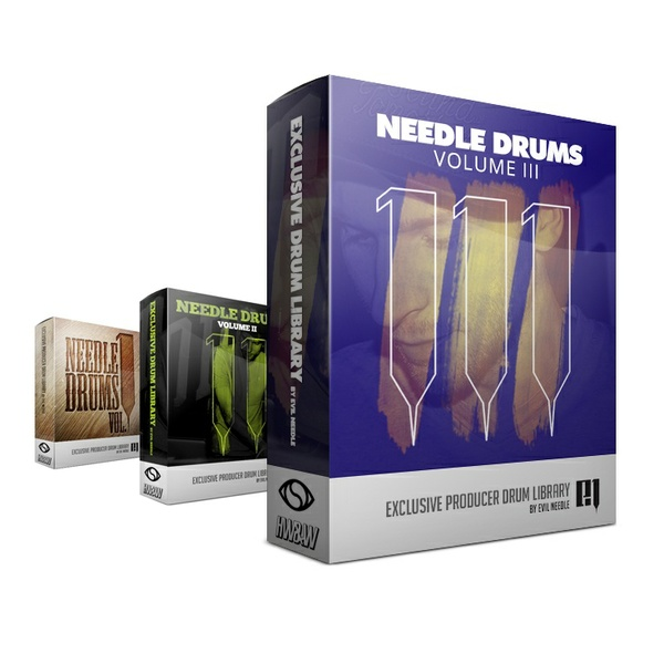 Evil Needle Drum Kit Bundle