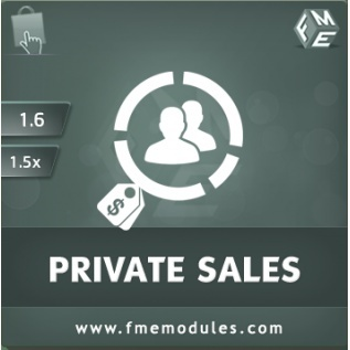 Private Sales Module by FMM for PrestaShop