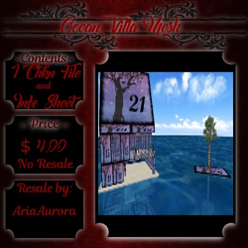 Room Mesh - Ocean Villa (NO Resale)