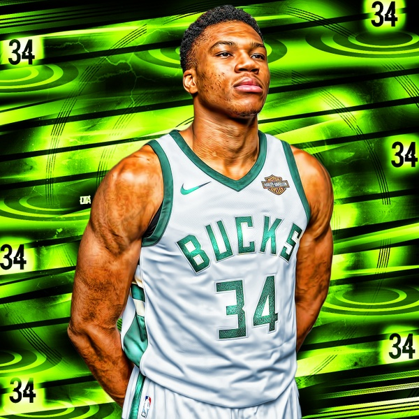 The Greek Freak PSD