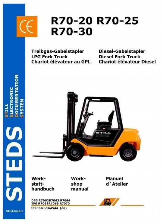 Still Fork Truck R70-20, R70-25, R70-30 Series: R7062-R7064; R7068-R7070 Workshop Manual