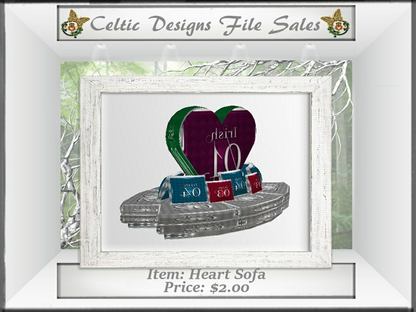 CD Heart Sofa
