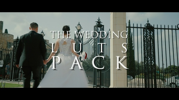 The Wedding Luts Pack