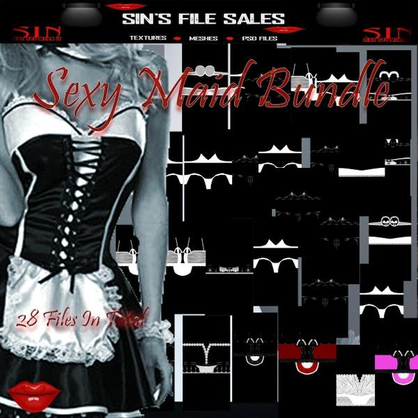 Maid Bundle *28 Files in Total